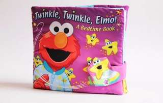 Elmo Fabric Learning Book
