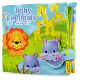 Animal Fabric Learning Book