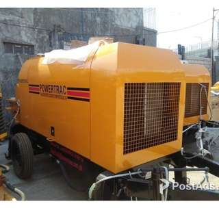Portable Concrete Pump ( HBTS30.06.75R)