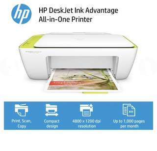 HP Printer with Cartridges All in one use