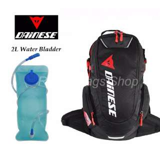 ★ DAINESE HYDRATION BACKPACK ★ FREE 2L water bladder bag ★ School Camping Travel Backpack Bag ★ Road trip ★ water bladder★ cycling ★ riding ★ New arrivals
