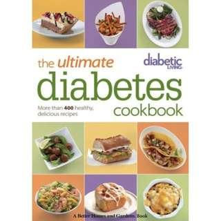 [eBook] Diabetic Living The Ultimate Diabetes Cookbook by Diabetic Living Editors
