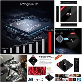 Android TV Media Box H96 PRO Plus