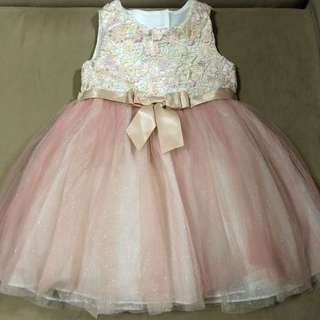 Brand new without tag toddler gown
