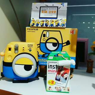 Minion Instax camera only RM299!
