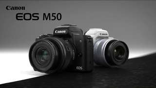 Camera Canon Eos M50