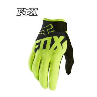 INSTOCK SIZE L ★Fox High Quality Motorcycle Gloves ★ E-Scooter ★ Motocross ★ Scrambler ★ Off road Dirt Bike ★ Black ★ New arrivals