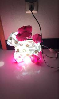 Bunny Puzzle Table Lamp / Night Light