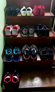 Nike, Adidas, Reebok Shoes