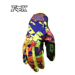 INSTOCK SIZE L ★Fox High Quality Motorcycle Gloves ★ E-Scooter ★ Motocross ★ Scrambler ★ Off road ★Dirt Bike ★Colour ★ New arrivals