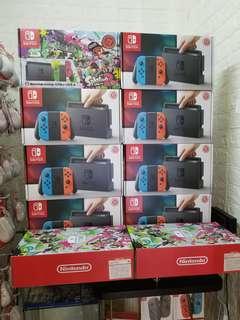 全新行貨Switch 紅藍主機,無需強逼買Games 或配件