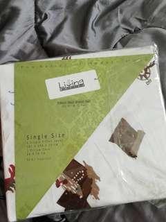 Single size Bed sheet