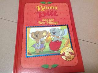 Blinky Bill and the village