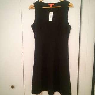 New Joe Fresh All Black Dress