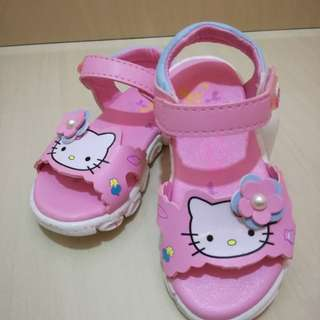 Kids Hello Kitty shoes with LED light