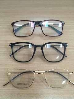 Eyewear trio
