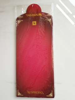 Nespresso red packet