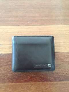 Rip curl leather wallet