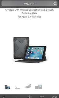 Zagg - iPad bluebooth keyboard.