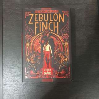 Zebulon finch volume one by daniel krauss