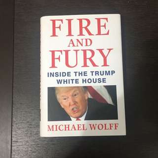 Fire and fury bu michael wolff