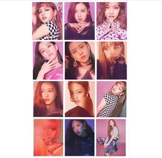 Blackpink Square Up Photocards