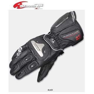 INSTOCK L, XL & XXL ★BLACK KOMINE TITANIUM RACING MOTORCYCLE GLOVES GK-169 JULIUS ★Motocross ★ Scrambler ★Off road ★ Dirt Bike ★ Black ★ Long motorcycle gloves ★ New arrivals