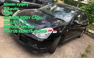 Nissan sylphy 2.0 auto 2008