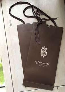 Goyard 紙袋