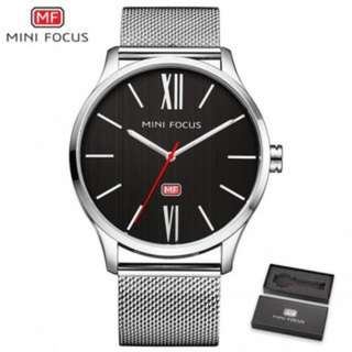 SW466 Brand Classic Stainless Steel Men Watch