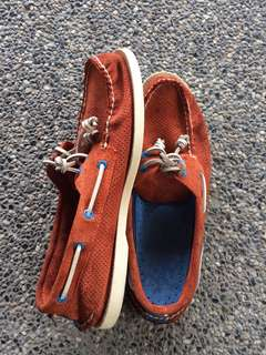 Sperry Boat Shoes Suede