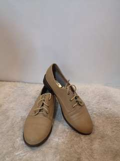 Beige Closed Shoes