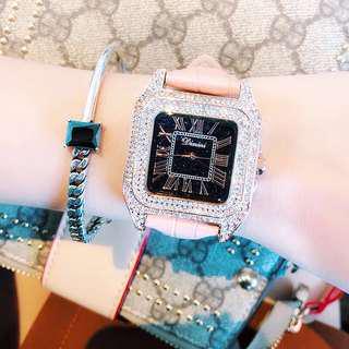 員工優惠價 水鑽方型高貴婦錶 seiko vintage 錶 復古
