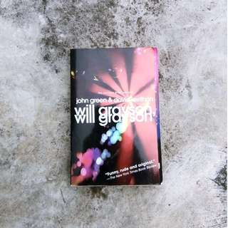 WILL GRAYSON: John Green & David Levithan