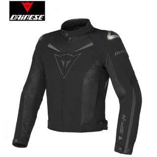 INSTOCK XL★DAINESE Super Speed Texile Mesh Motorcycle Jacket ★Motorcycle ★ Motocross ★Scrambler ★ Dirt Bike ★ off road ★ New arrivals ★ Black ★ Ready stock