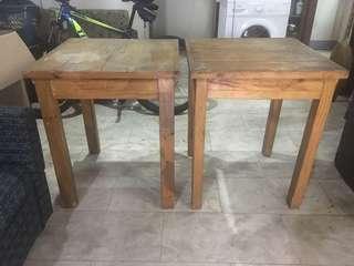 2pcs Palochina table