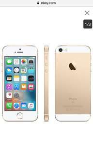 IPhone SE Gold FU 32gb For Swap to 6s add ako cash