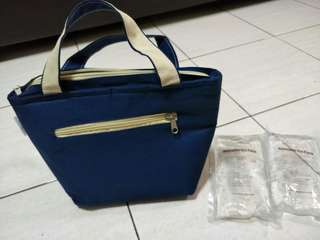 Autumnz brand Cooler Bag # FOC 2 x Autumnz reusable ice pack