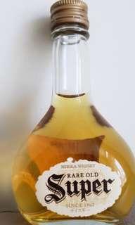 舊版NlKKA Super威士忌酒辦50ml一支。