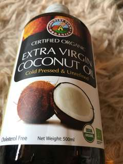 🚚 Extra virgin coconut oil / organic
