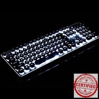 🚚 BNIB Vintage Modern Gaming Keyboard VI93