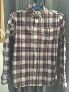 Checkered Polo fits XS Men