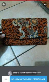 Dompet batik lucu
