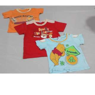 T-Shirt For Kid 2-3 (Baju Rumah)