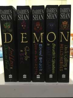 Darren Shan - Demonata Series