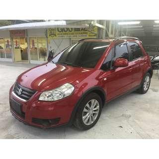 <小馬愛車 實車實價專區> 2012 Suzuki Sx4 1.6 紅