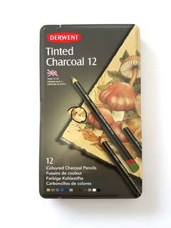 BN DERWENT TINTED CHARCOAL PENCILS