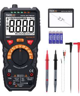 Tacklife professional smart digital multimeter