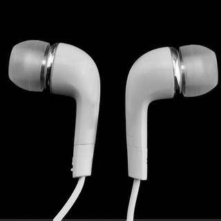 3.5mm白色耳機(粗用一流)