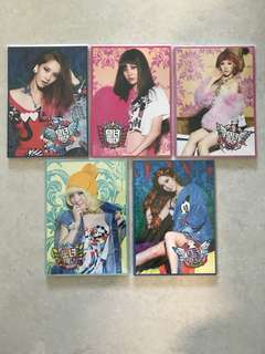 KPOP 絕版 少女時代SNSD官方周邊 I Got A Boy Notebook Yoona / Seohyun / Tiffany / Taeyeon / Jessica